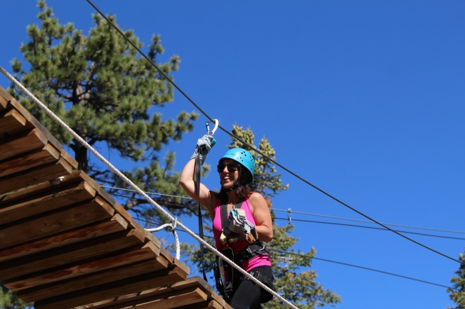 Action Tours Big Bear Zip Lining